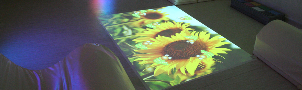 Sensor Floor - the educational interactive floor projection system