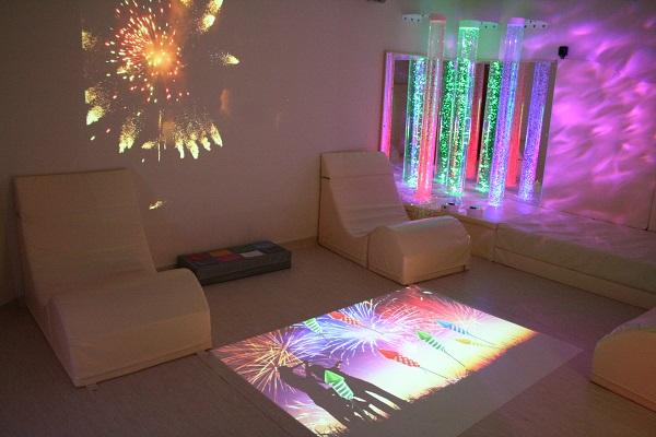Sensor Floor takes control of a sensory room