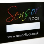 The Sensor Floor swipe card