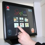 Touch Screen control of the interactive floor system - Sensor Floor&#0153 only available from Sensory Technology Ltd